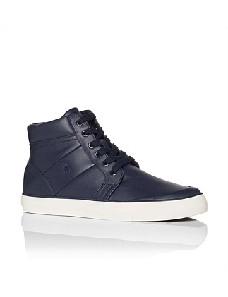 Isaak Leather High Top