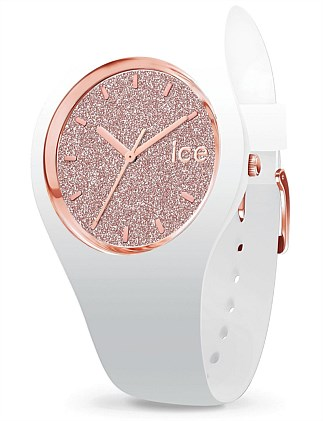 Ice Glitter - White Rose-Gold - Small