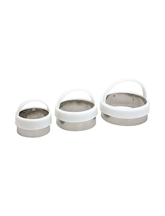 Biscuit Cutter Straight Sided Set of 3