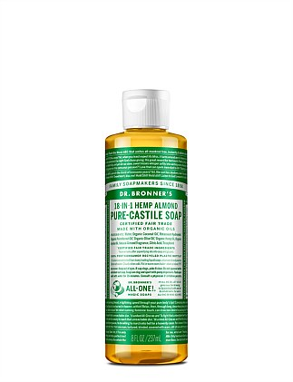 Liquid Castile Soap 237ml - Almond