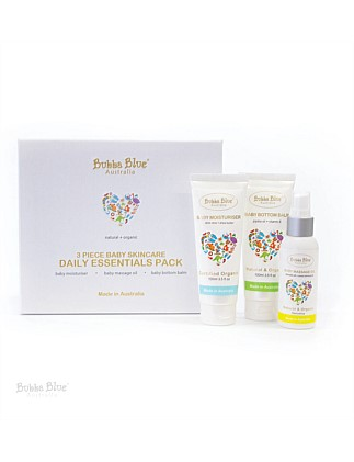 Bubba Blue 3 Piece Essential Skincare Gift Pack