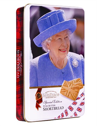 Union Jack Shortbread In Tin 250G