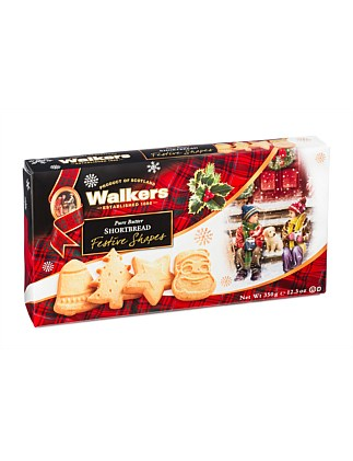 Festive Shapes Shortbread 350G