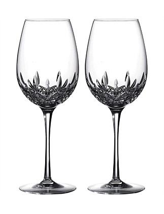 Lismore Essence Goblet Pair