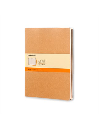 Cahier Set Of 3 Ruled Notebook Extra Large