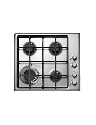 Fisher & Paykel CG604LCX1 60cm Gas Cooktop 4 Burners-S/S