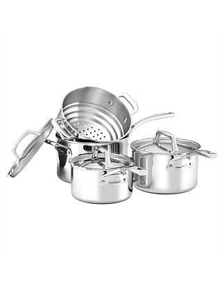 Per Sempre Stainless Steel 4 Piece Cookware Set