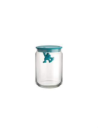 Gianni Glass Box 5blue Lid