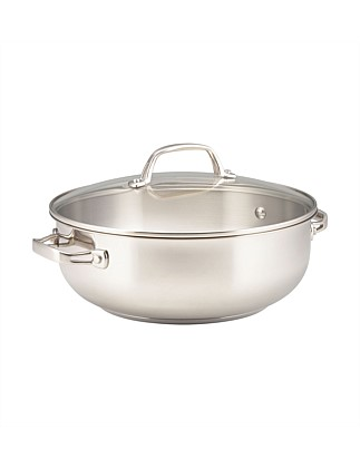 Commercial 28cm/5.7L Covered Casserole