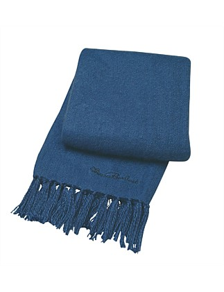 FAUX CASHMERE THROW 1.27 X 1.52 M