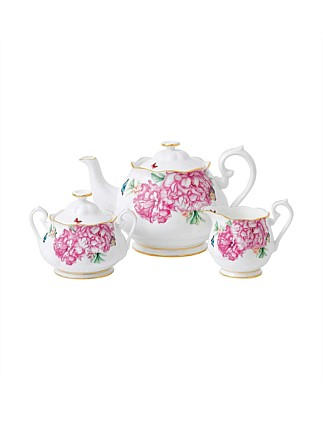 Miranda Kerr Friendship Teapot, Sugar Bowl & Cream Jug