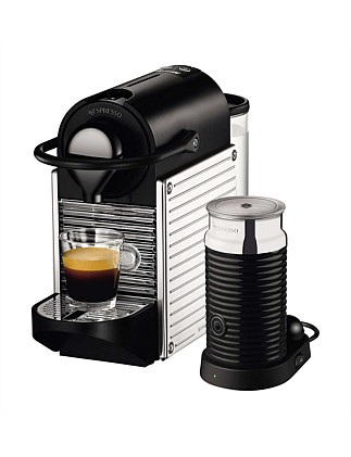NESPRESSO BEC400XS Pixie Bundle Coffee Machine