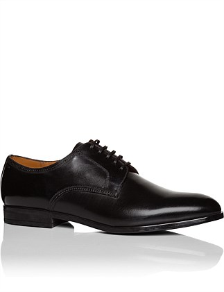 Lausanne Brushed Calf Leather Derby
