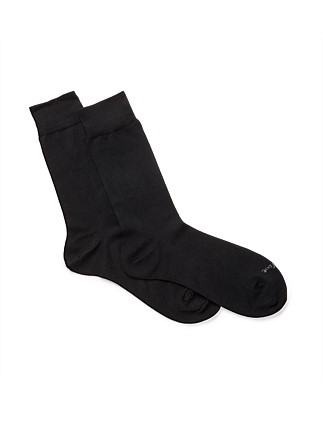 Bamboo Crew Socks Pack Of Two