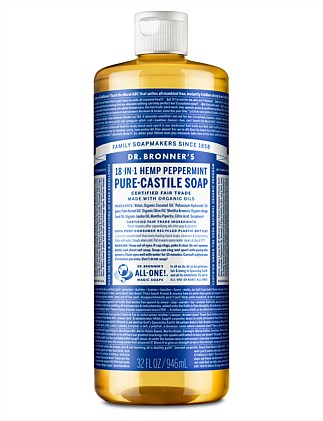 Liquid Castile Soap 946ml - Peppermint