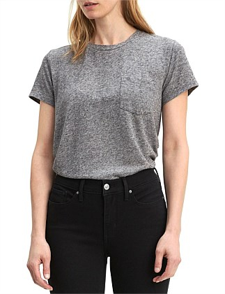The Perfect Pocket Heather Tee