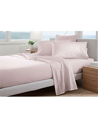 300TC PERCALE KING BED SHEET SET