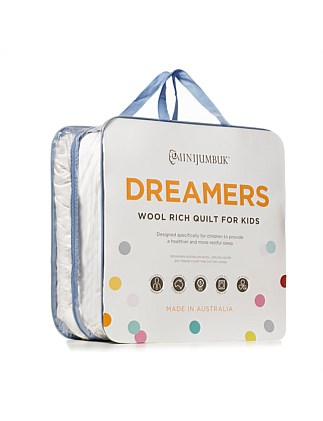 Dreamers Kids Wool Quilt - Double