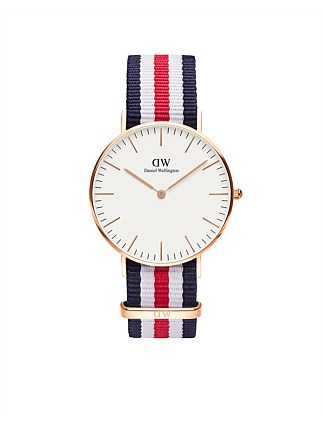 Classic Canterbury 36mm Rose Gold