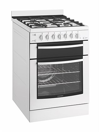 Westinghouse WFG617WA 60cm Gas Upright Freestanding Cooker