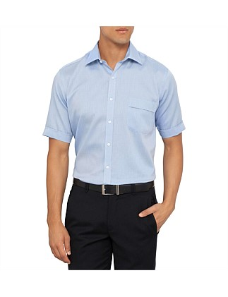068ee33df02 Short Sleeve Nailhead Classic Fit Shirt Special Offer