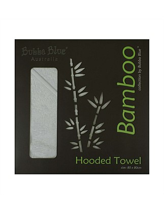 Bamboo Hooded Towel-White