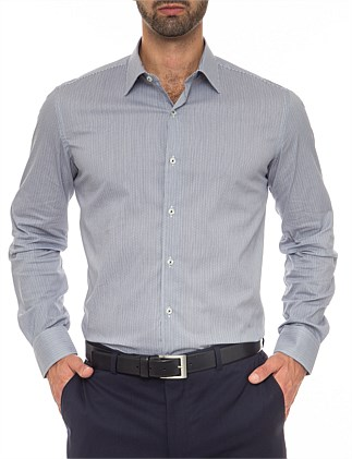 Donald Extra Slim Fit - Cotton Stretch Check  Shirt