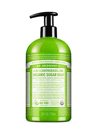 Organic Pump Soap 710ml - Lemongrass/Lime