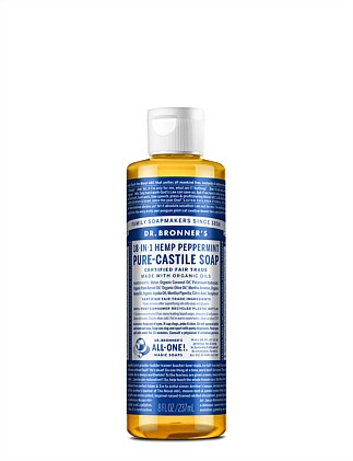 Liquid Castile Soap 237ml - Peppermint