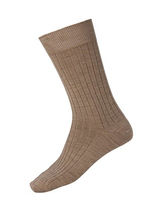 Wool Blend Short Leg Socks