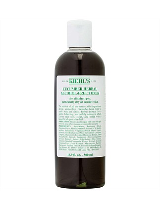 Cucumber Herbal Alcohol-Free Toner 500ml
