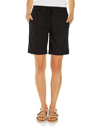 Rosa Stretch Linen Short