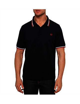 Short Sleeve Twin Tipped Polo