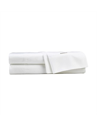 Darlington White Double Bed Sheet Set