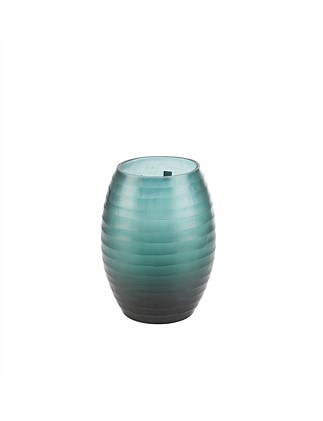 Sea Green Ombre Large Vase