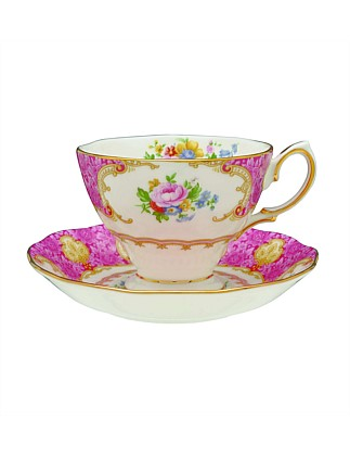 Lady Carlyle Teacup & Saucer Set