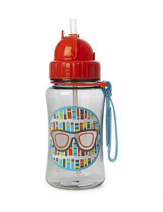 Forget Me Not Glasses Straw Bottle