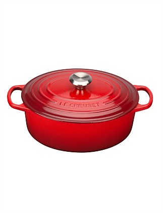 Signature Cast Iron Oval Casserole 29cm/4.7L
