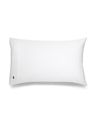 CL PLAYER White Standard Pillow Case Pair 50x75cm