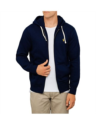 Mens Full Zip Hooded Fleece