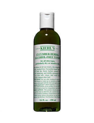 Cucumber Herbal Alcohol-Free Toner 250ml
