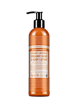 Hand & Body Lotion 236ml - Orange/Lavender