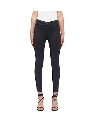 Cult Skinny Ankle Coated High Rise Jeans