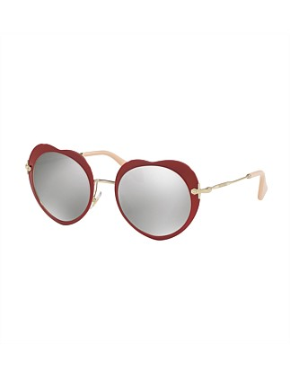 0mu 54rs Irregular Sunglasses