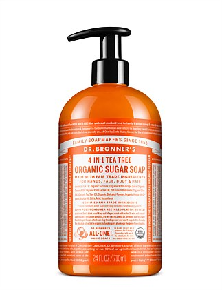 Organic Pump Soap 710ml - Tea Tree