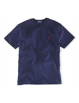 b253cc133 Cotton Jersey Crewneck T-Shirt (8-14 Years). Polo Ralph Lauren