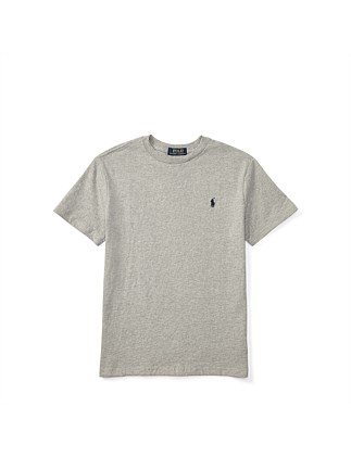 Cotton Jersey Crewneck T-Shirt (8-14 Years)