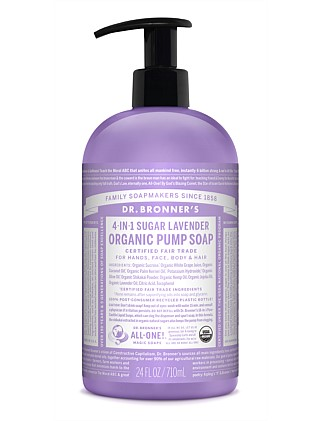 Organic Pump Soap 710ml - Lavender