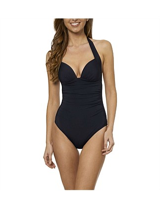 Jetset 50's Gathered Halter One Piece