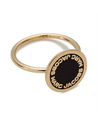 Enamel Logo Disc Ring